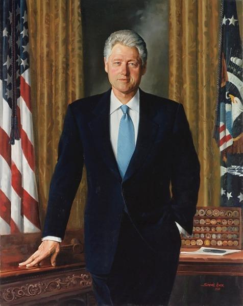 Bill Clinton (Simmie Knox)