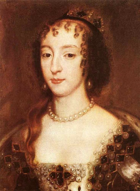 Henrietta Maria of France, Queen  of England (Sir Peter Lely)