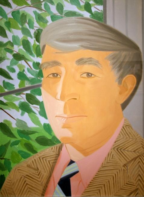 John Updike (Alex Katz)