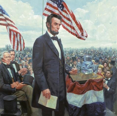 Abraham Lincoln (Mort Kunstler)