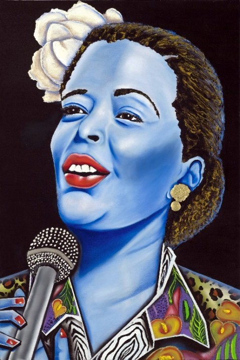 Billie Holiday (Nannette Harris)