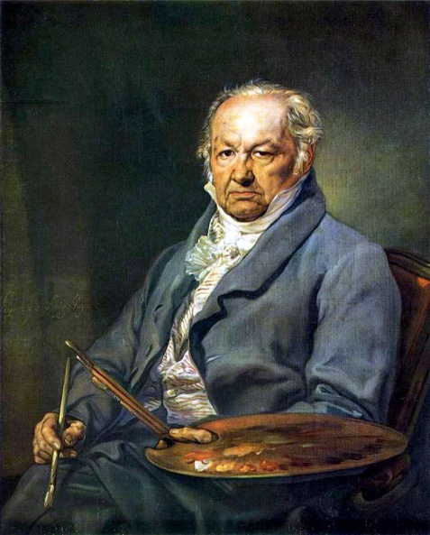 Francisco de Goya (Vincente Lopez y  Portana)