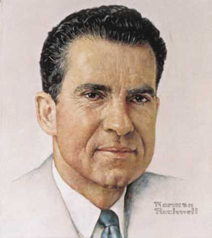 Richard Nixon  2 (Norman  Rockwell)